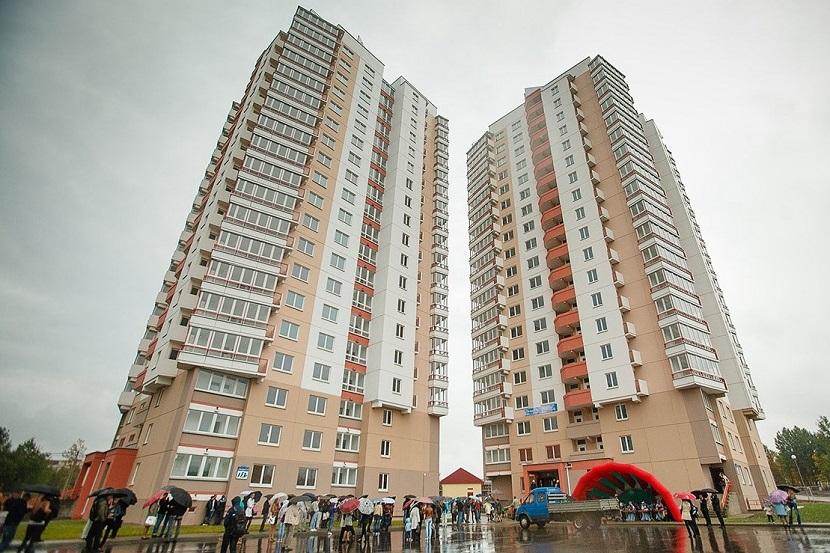 956 тыс. кв. м жилья введено в эксплуатацию в Беларуси в первом квартале.