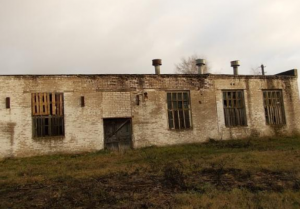 Здание котельной с пристройкой и дымовой трубой