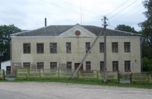 Комплекс зданий, сооружений бывшей школы, д. Василевичи