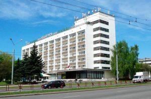 Гостиница Беларусь, Калиновского 1