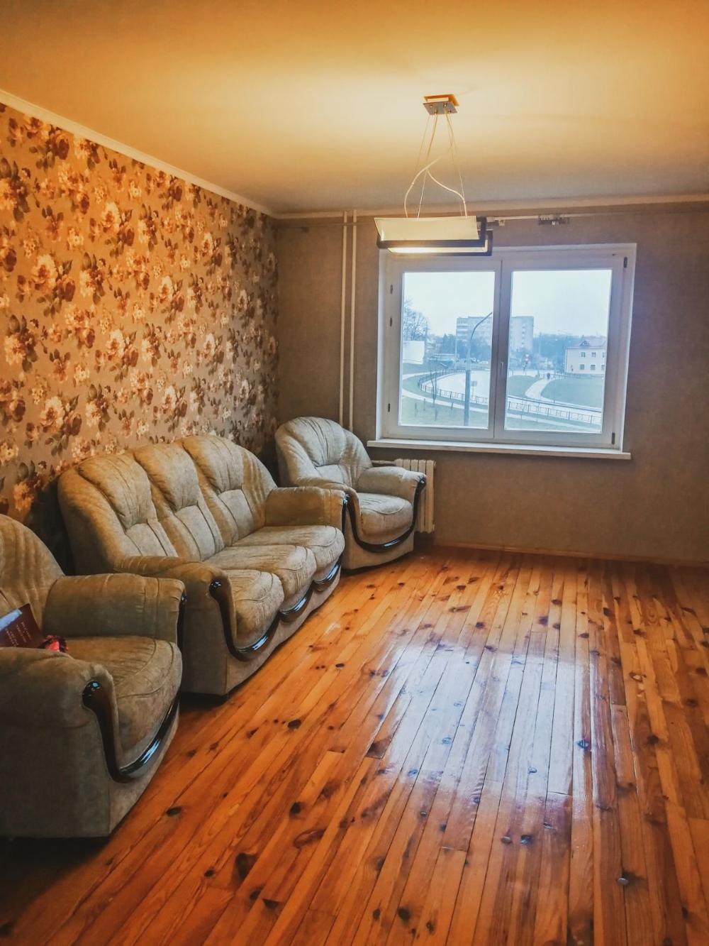 Трёхкомнатная квартира по ул. Пушкина