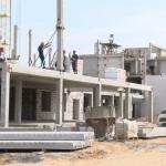 Новая школа в Грандичах-3 построена на 30%